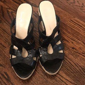 Shoes - Franco Sarto Espadrill in Black